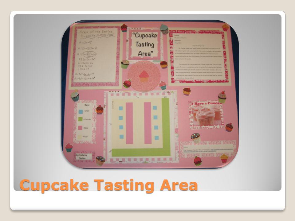 Cupcake Tasting Area