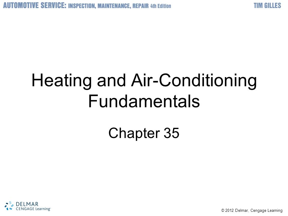 Heating and Air-Conditioning Fundamentals
