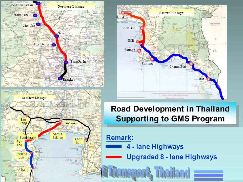 Road Development in Thailand Supporting to GMS Program
