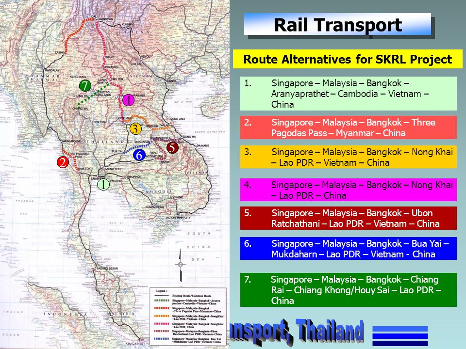 Route Alternatives for SKRL Project