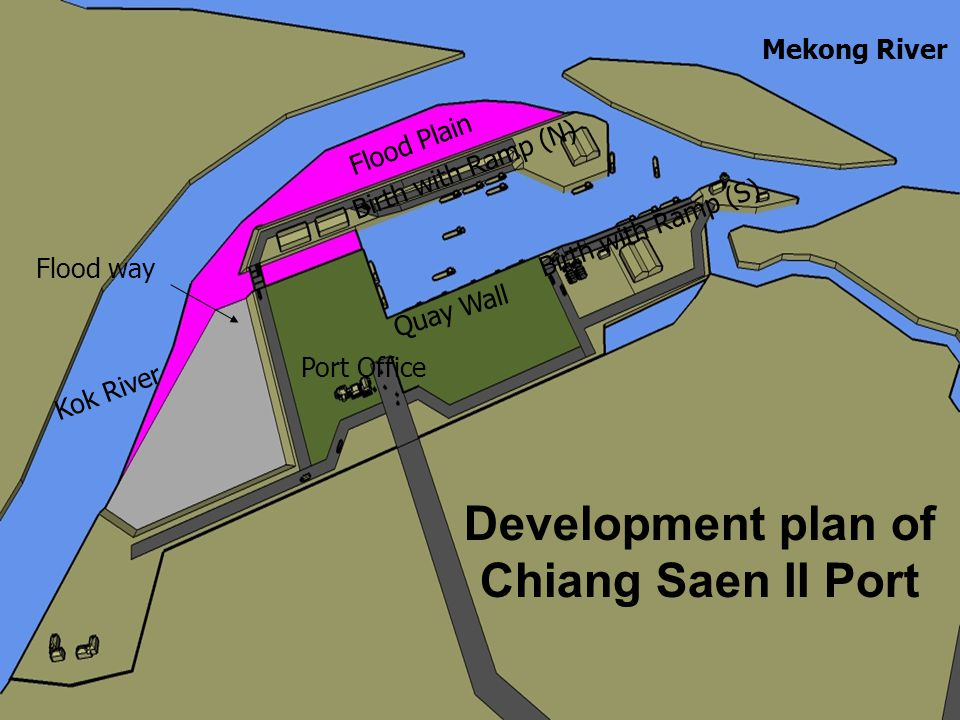 Development plan of Chiang Saen II Port