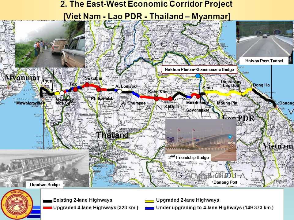 2. The East-West Economic Corridor Project