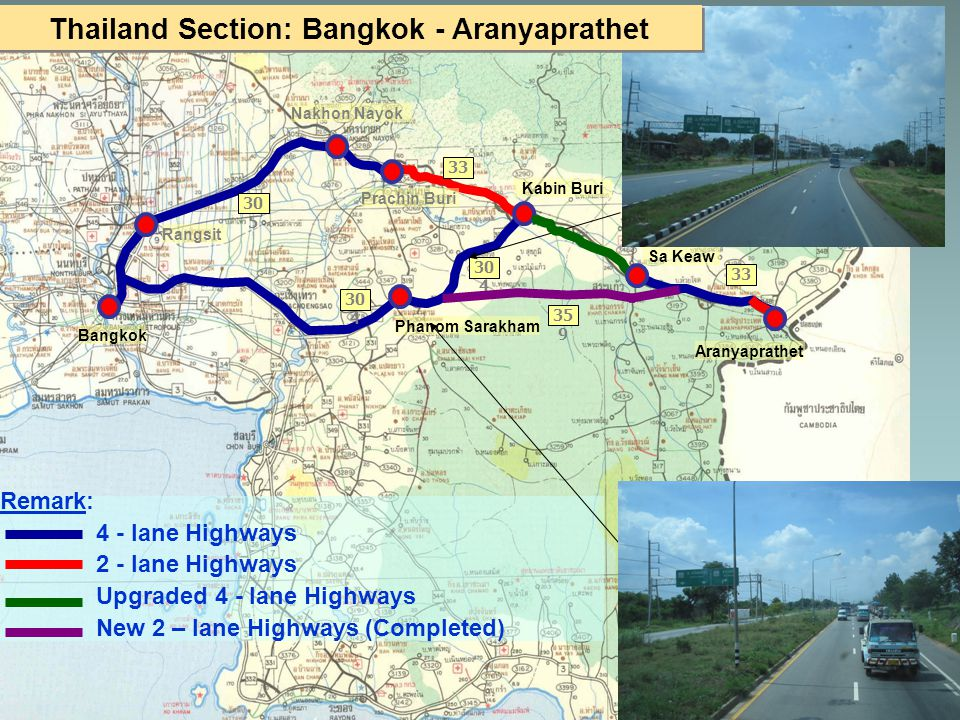 Thailand Section: Bangkok - Aranyaprathet