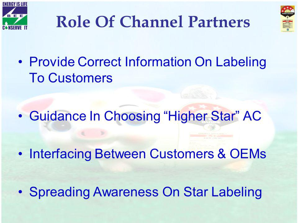 Role Of Channel Partners