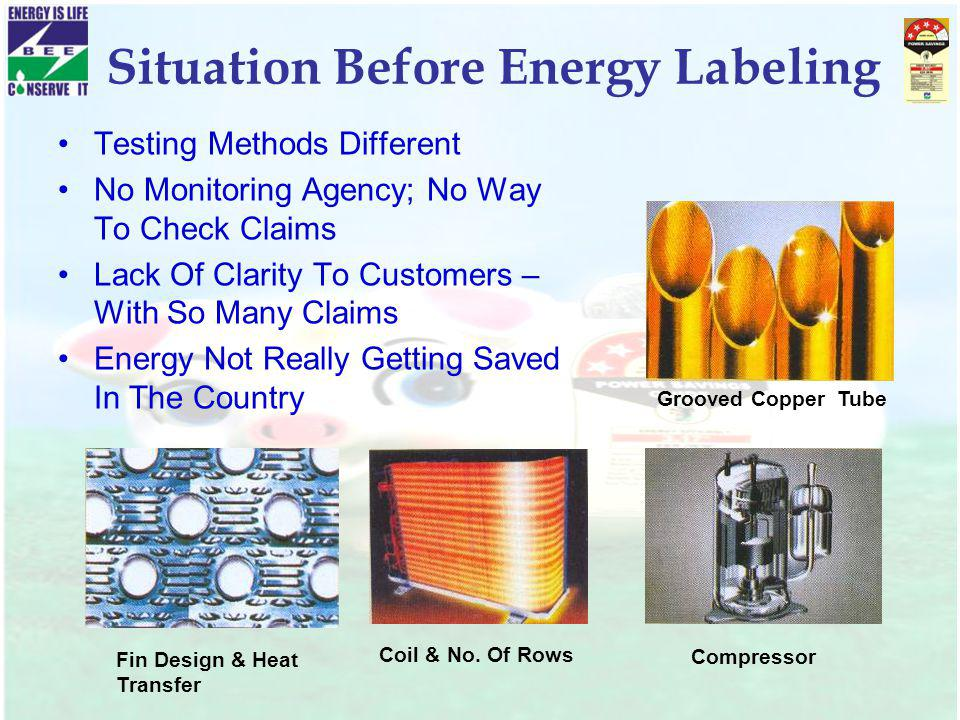 Situation Before Energy Labeling