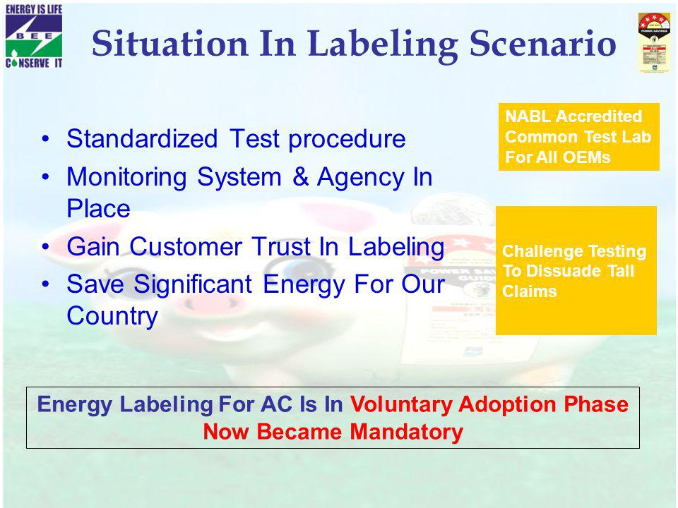 Situation In Labeling Scenario