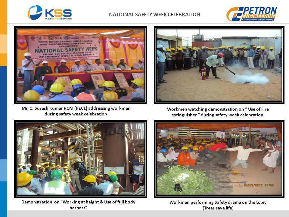 NATIONAL SAFETY WEEK CELEBRATION