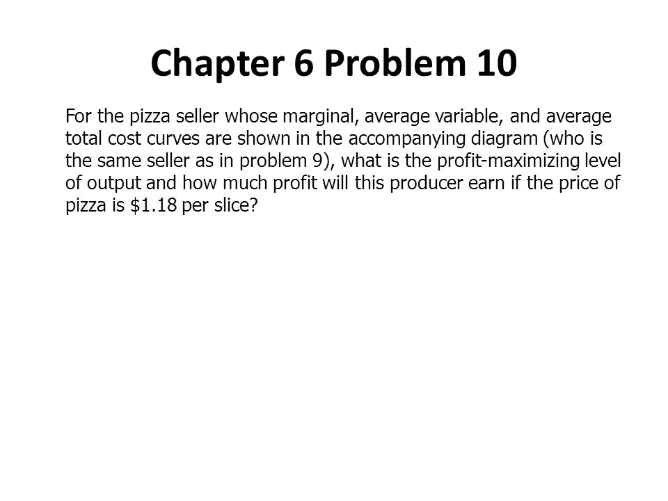 Chapter 6 Problem 10