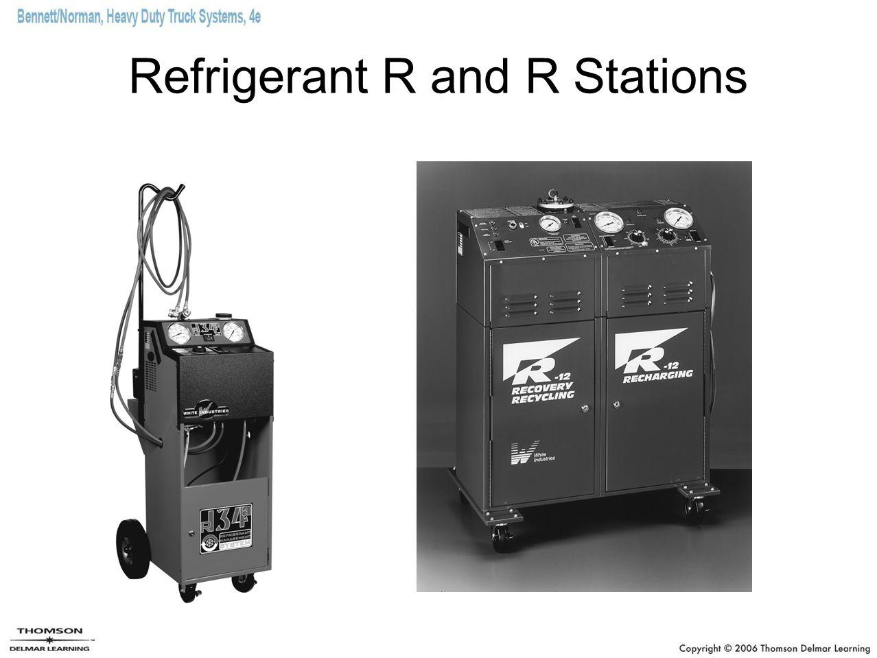 Refrigerant R and R Stations
