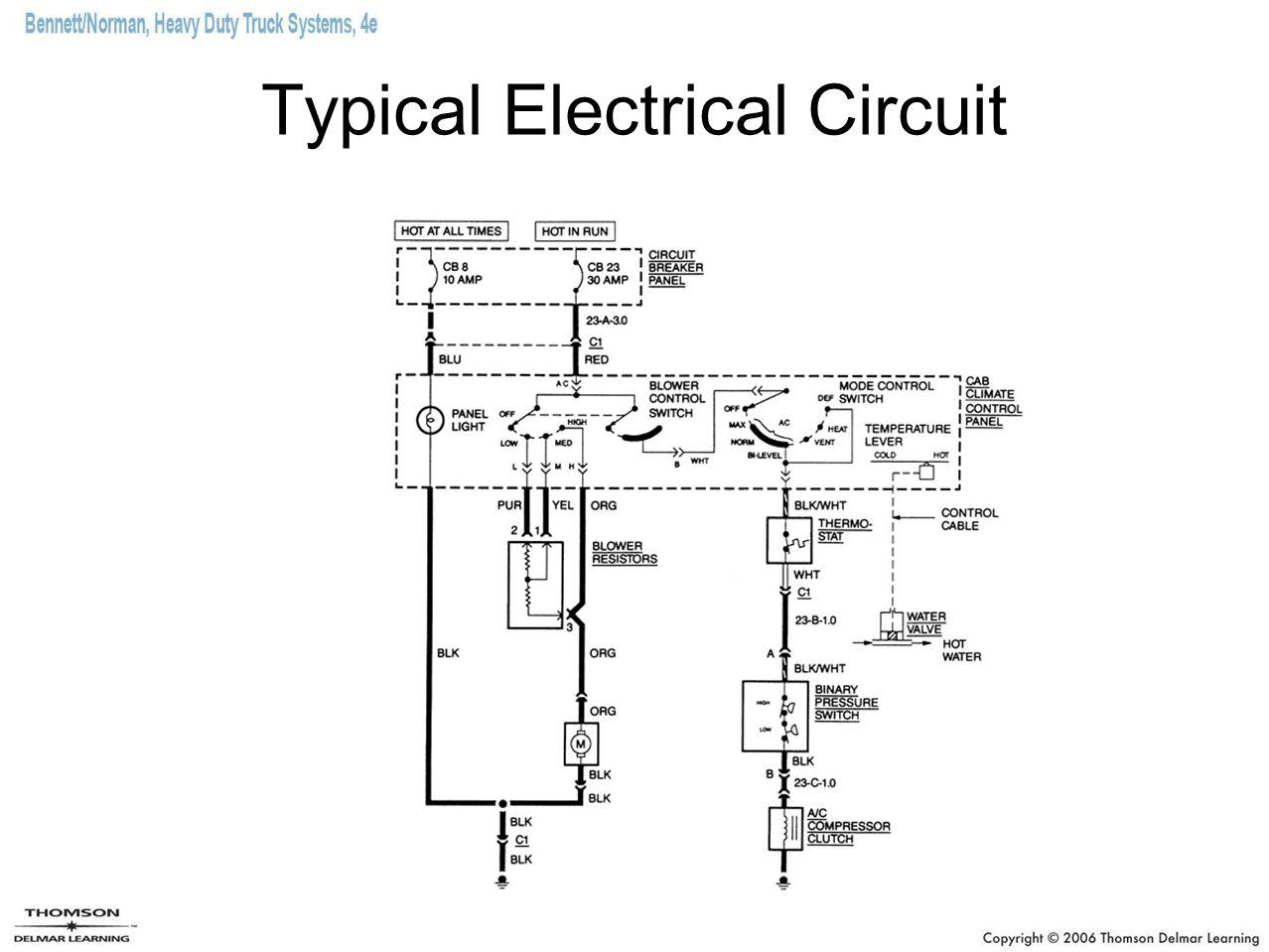 Typical Electrical Circuit