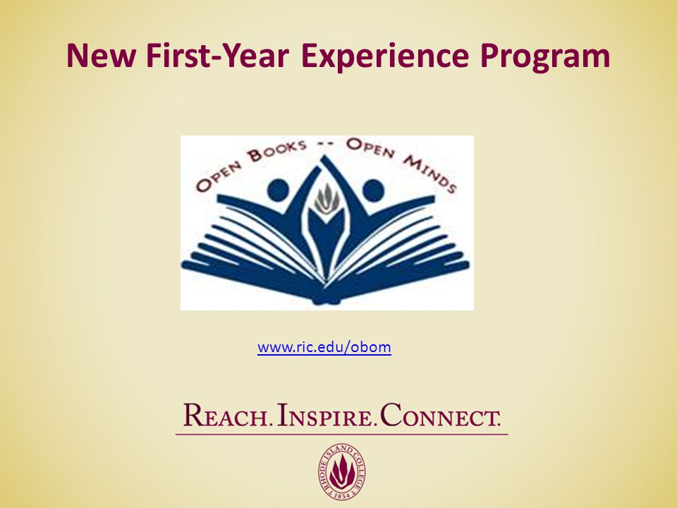 New First-Year Experience Program