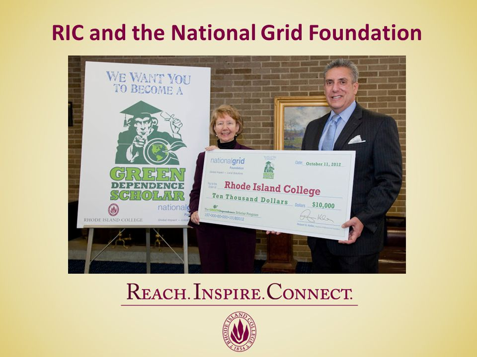 RIC and the National Grid Foundation