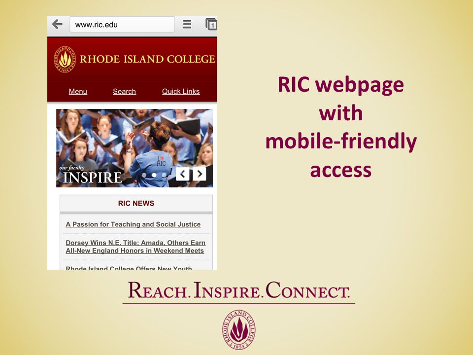mobile-friendly access