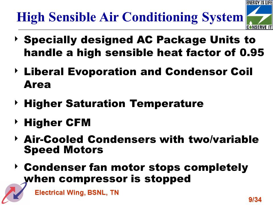 High Sensible Air Conditioning System