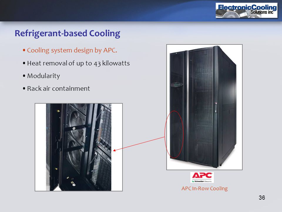 Refrigerant-based Cooling