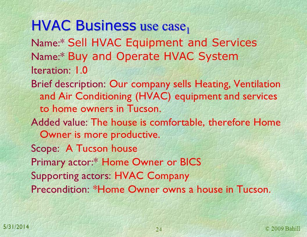 HVAC Business use case1