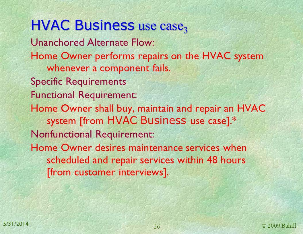 HVAC Business use case3