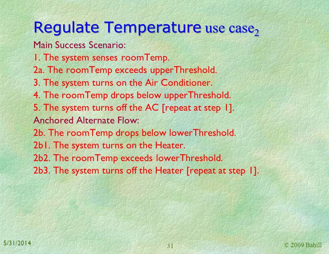 Regulate Temperature use case2