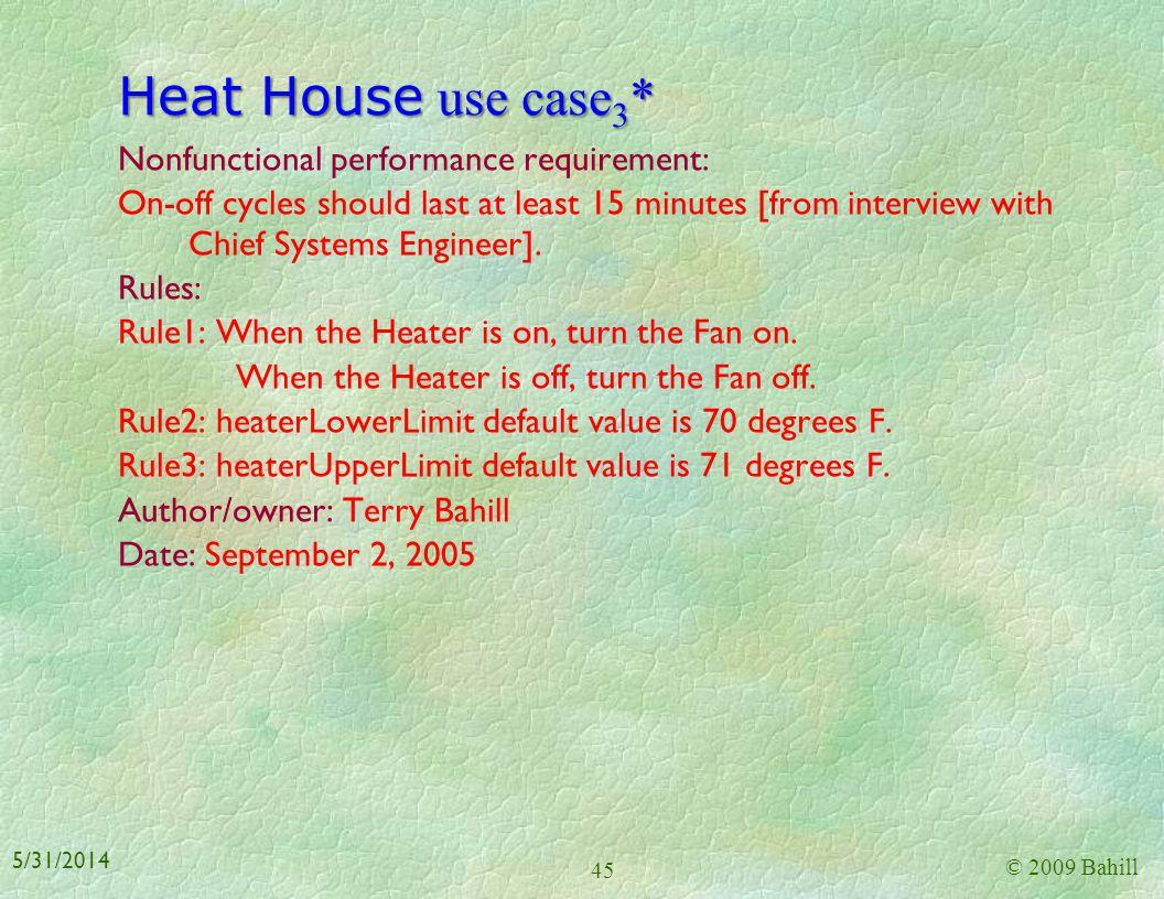 Heat House use case3*