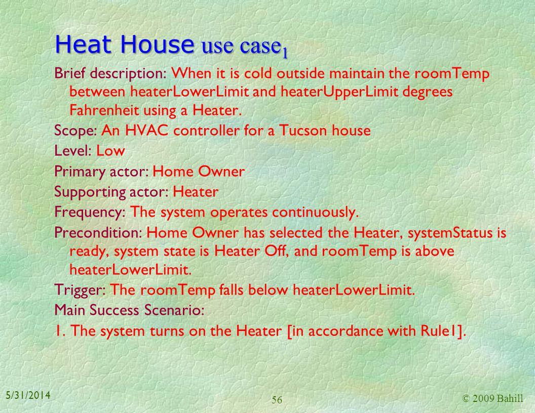 Heat House use case1