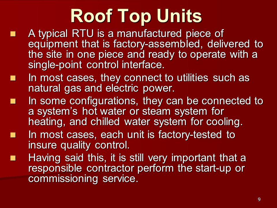 Roof Top Units