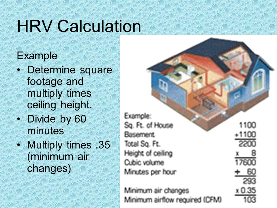 HRV Calculation Example