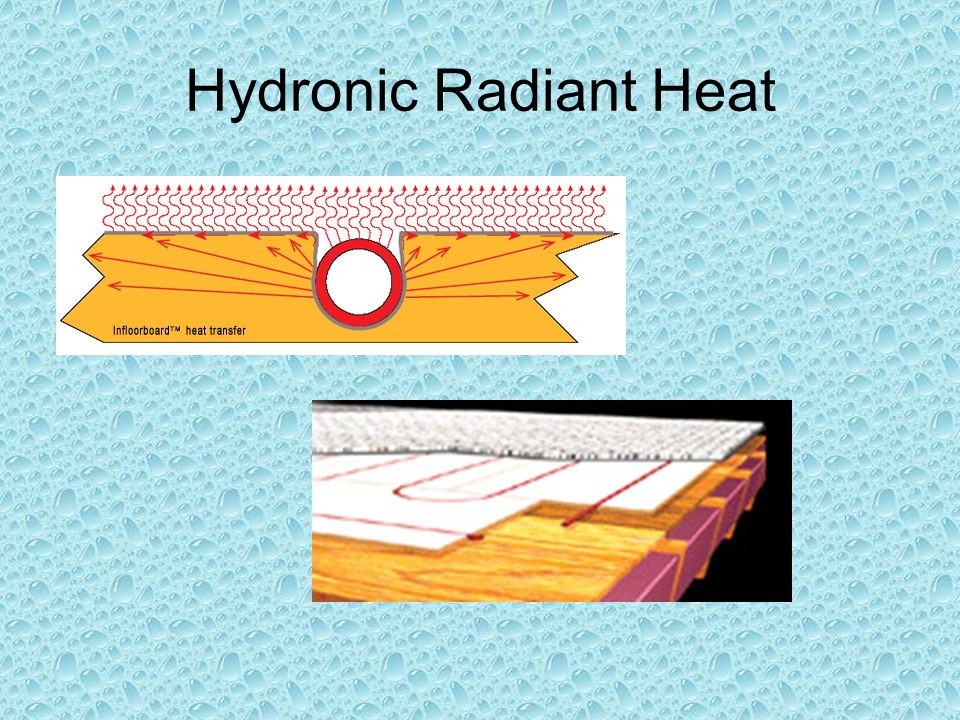 Hydronic Radiant Heat Low Mass Modular Board