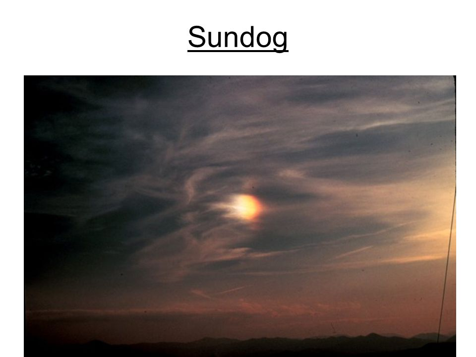 Sundog Photo from www.photolib.noaa.gov