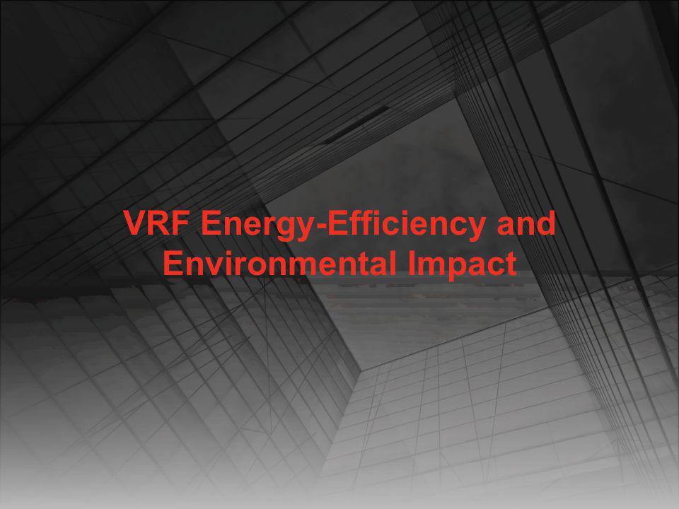 VRF Energy-Efficiency and Environmental Impact