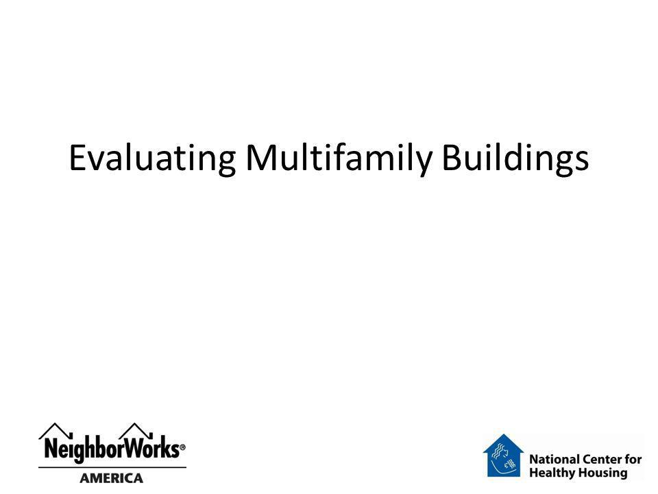 Evaluating Multifamily Buildings