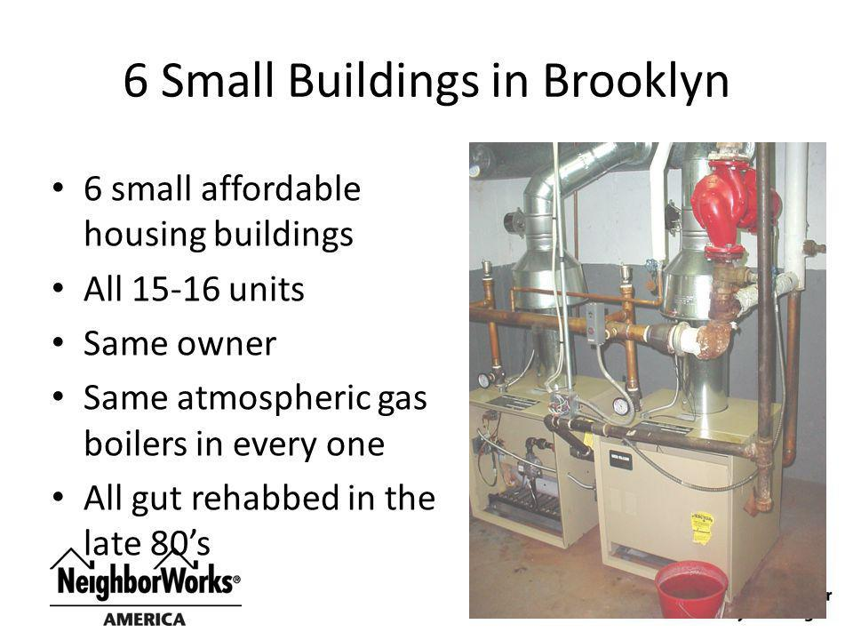 6 Small Buildings in Brooklyn