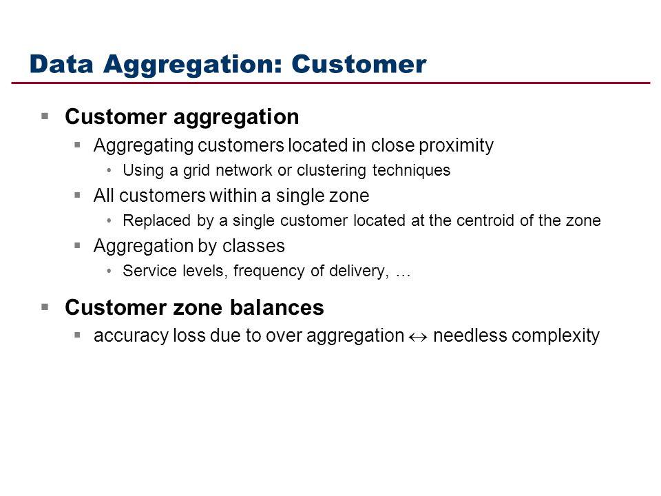 Data Aggregation: Customer