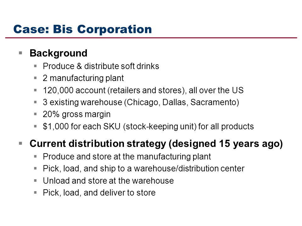 Case: Bis Corporation Background