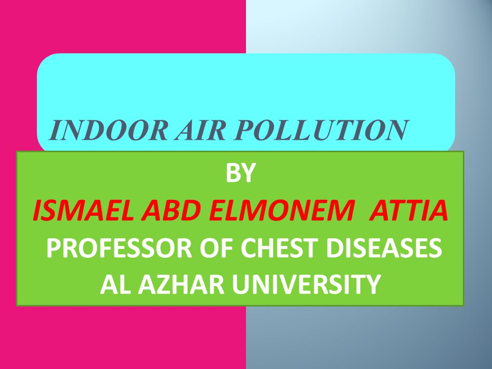 ISMAEL ABD ELMONEM ATTIA PROFESSOR OF CHEST DISEASES