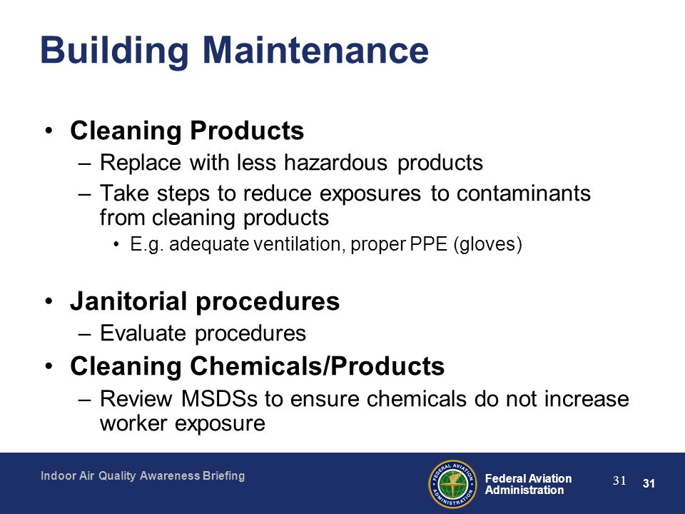 Building Maintenance Cleaning Products Janitorial procedures