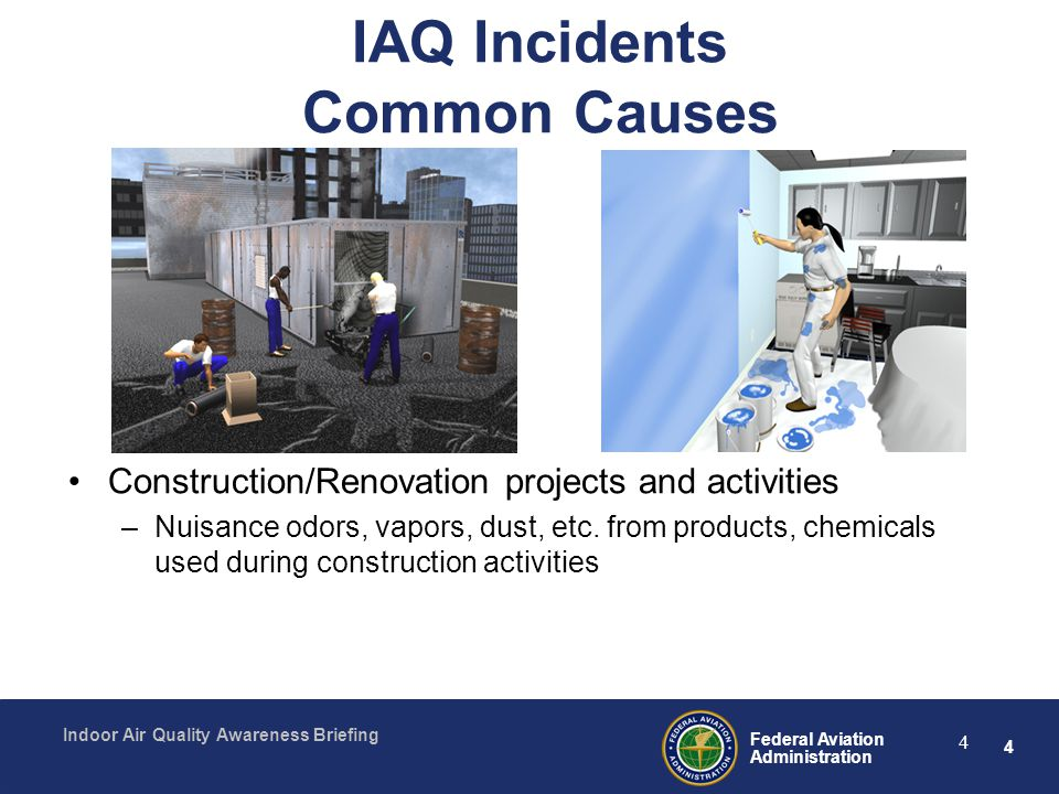 IAQ Incidents Common Causes