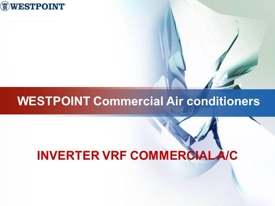 INVERTER VRF COMMERCIAL A/C