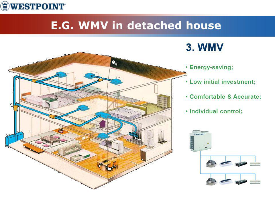E.G. WMV in detached house