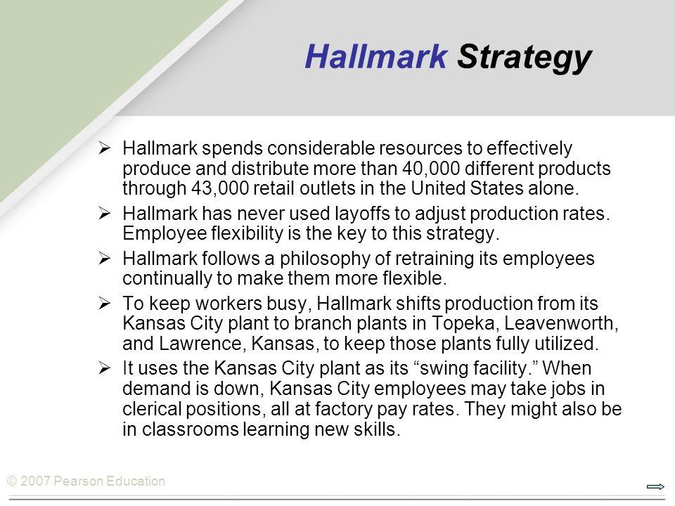 Hallmark Strategy