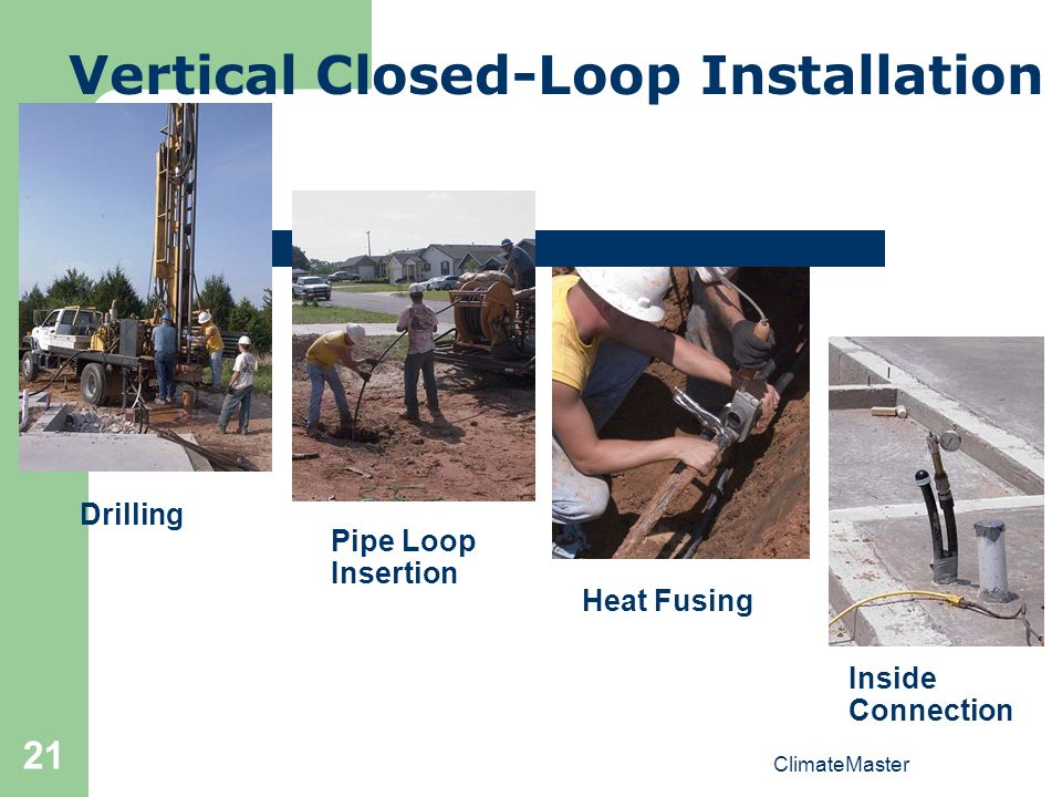 Vertical Closed-Loop Installation