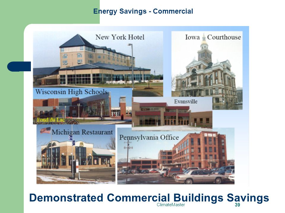 Energy Savings - Commercial