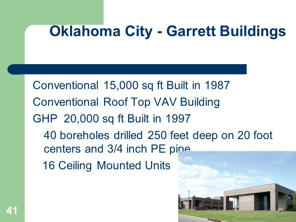 Oklahoma City - Garrett Buildings