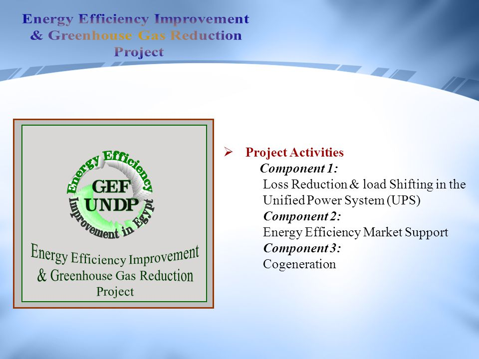 Energy Efficiency Improvement & Greenhouse Gas Reduction