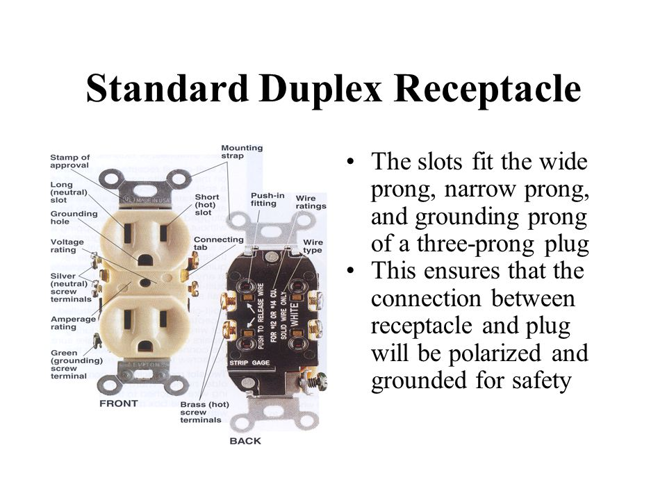 ELECTRICAL RECEPTACLES - ppt video online download