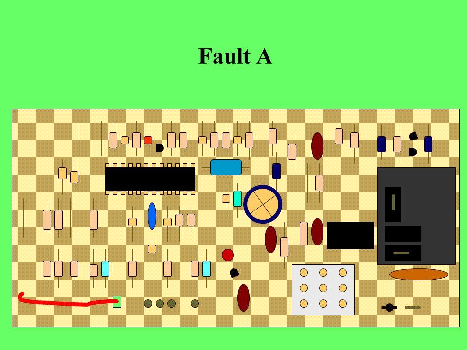 Fault A 121