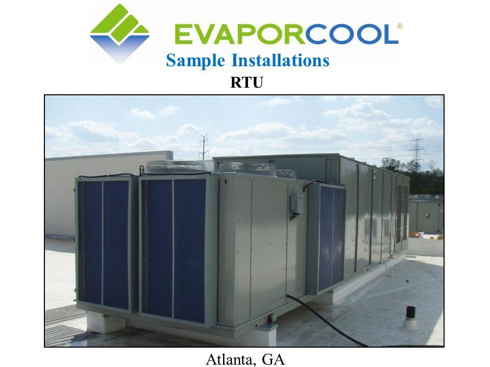 Sample Installations RTU Atlanta, GA