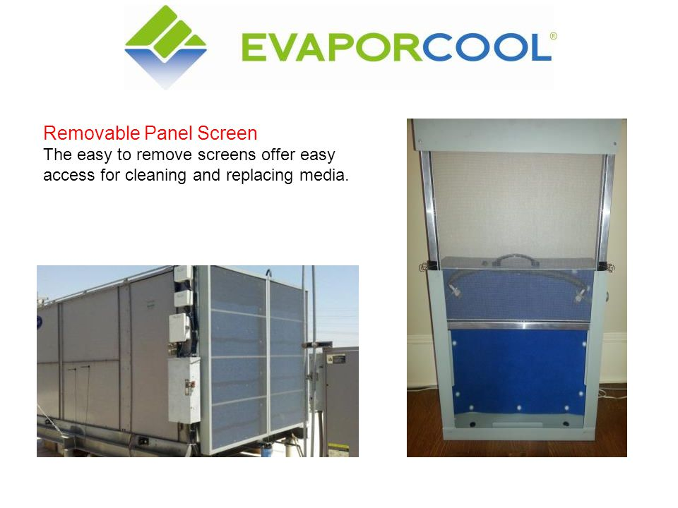 Removable Panel Screen