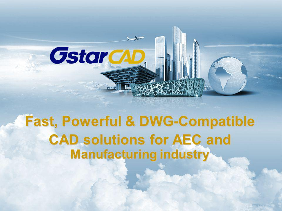 Fast, Powerful & DWG-Compatible