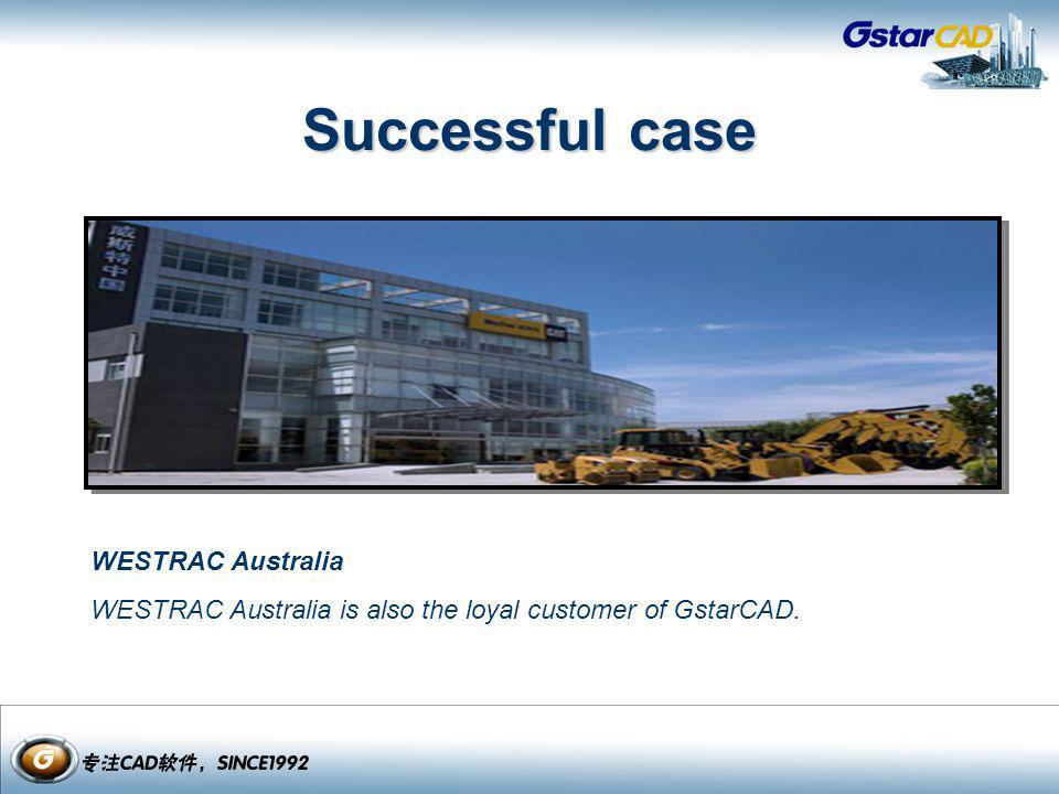 Successful case WESTRAC Australia