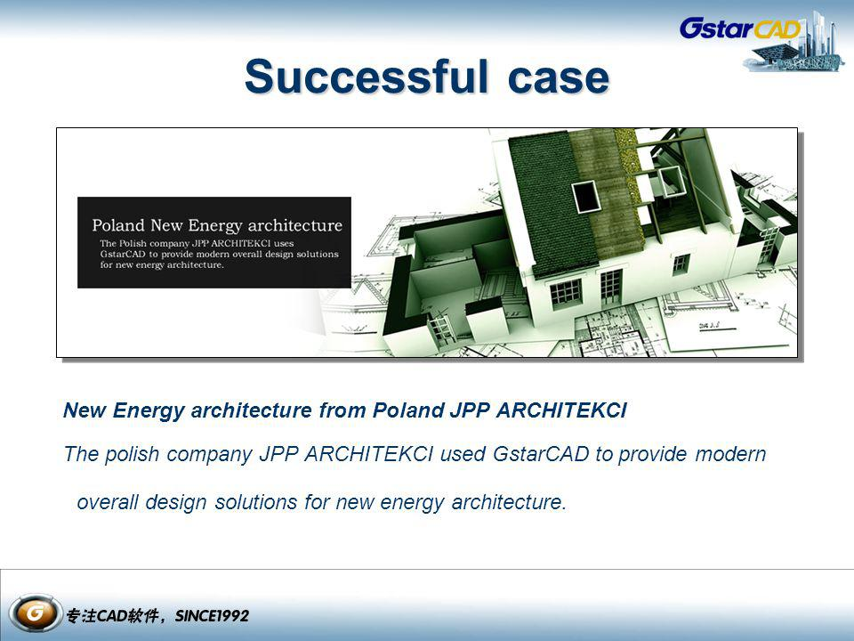 Successful case New Energy architecture from Poland JPP ARCHITEKCI